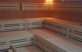 90° Sauna